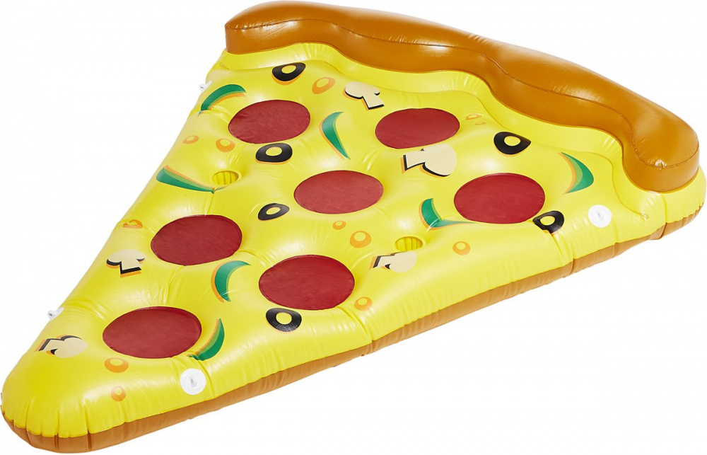Pizza slice gumimatrac