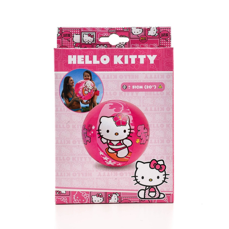 Hello Kitty strandlabda, 51 cm