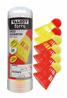 Talbot-Torro Mix Speedbadminton labda, 6 db